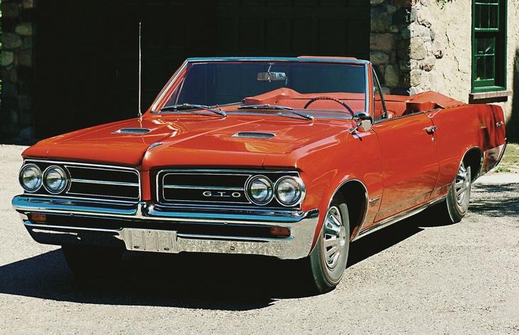 pontiac gto 1964 фото