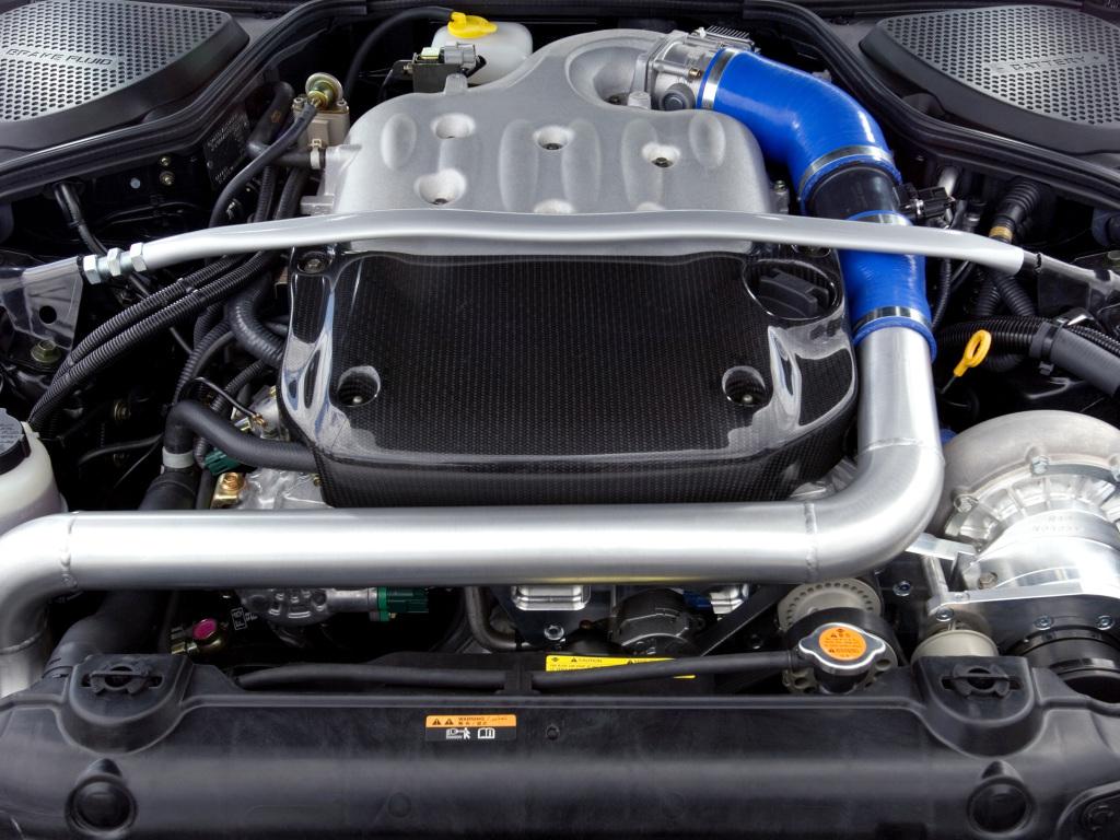ниссан 350з двигатель фото
