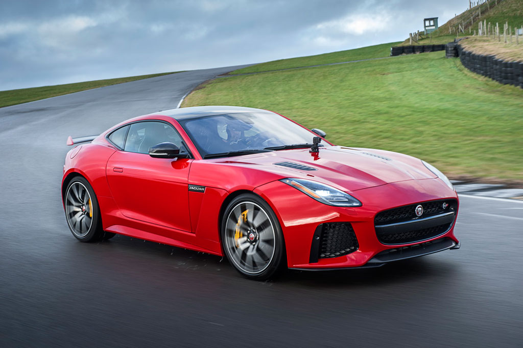 jaguar F type SVR coupe фото 3