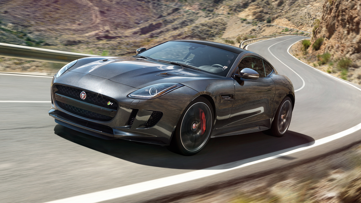 jaguar F type SVR coupe фото 4