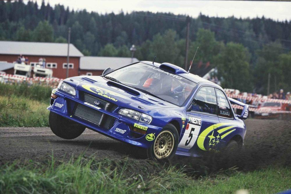 Subaru Impreza WRX STI Rally