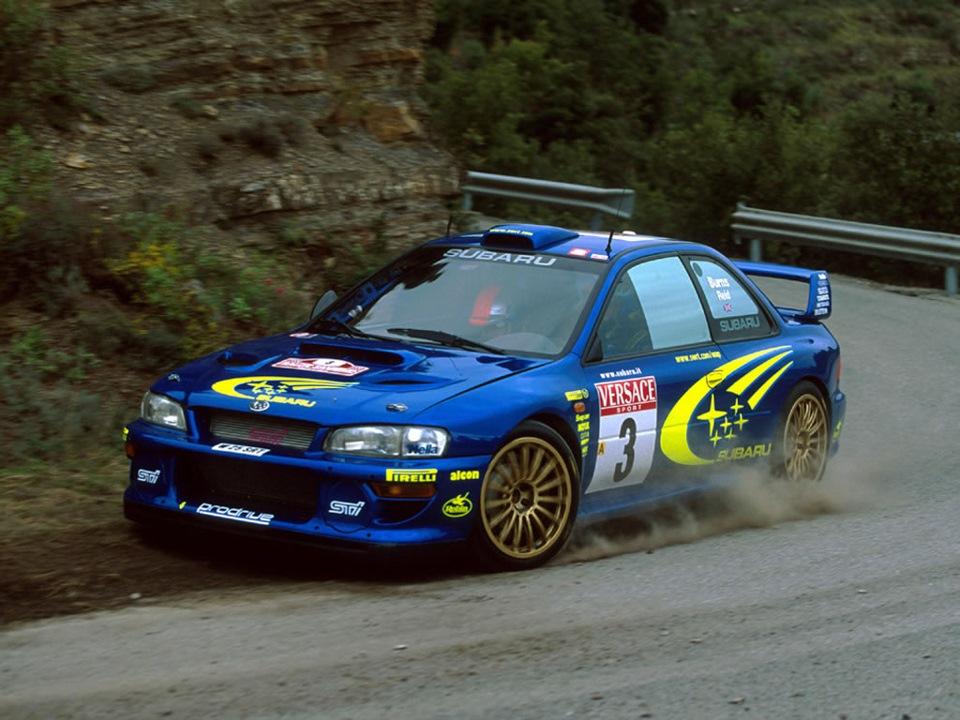 Subaru Impreza WRX STI 1996